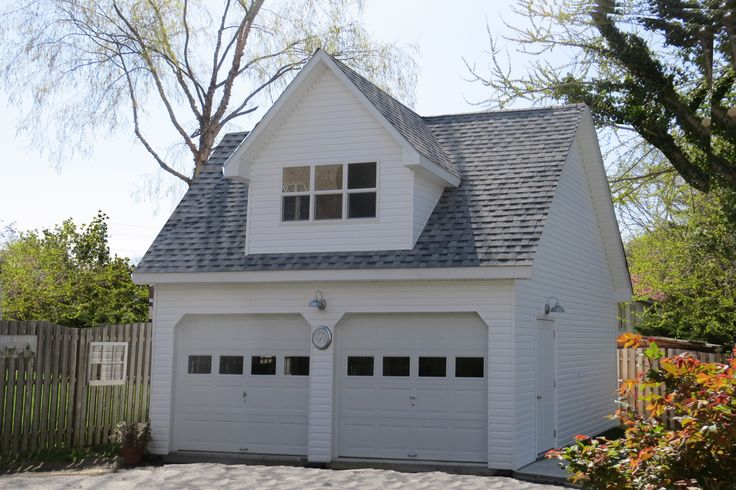 A Two Car Garage with a Man Cave on the second floor. This building was built by Sheds Unlimited of Lancaster County, PA and the man cave finished by the owner. To learn more click on the photo or call 717-442-3281