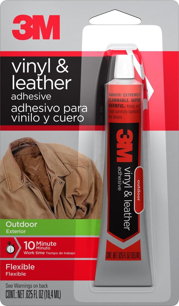 3M 18061 1 1 Vinyl and Leather Adhesive, .625Ounce
