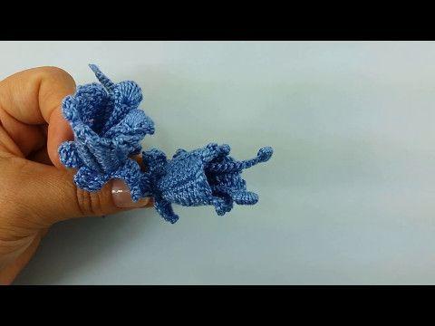 Aprenda a fazer Lírio de Crochê Irlandês - YouTube