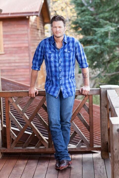He makes me want to like country music.  Blake Sheldon is a beautiful man:)