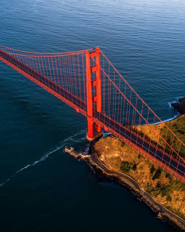Golden Gate Bridge by Jim Langston #sanfrancisco #sf #bayarea #alwayssf #goldengatebridge #goldengate #alcatraz #california