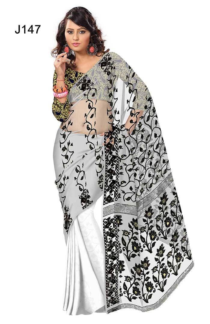 20% OFF - New collection of Handloom Jamdani Saree at banglarsare.com