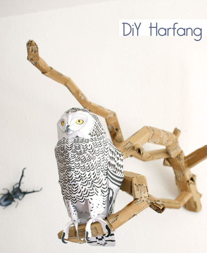 chouette-papier-paper-owl