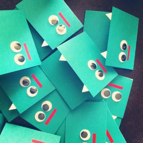 Nice monster invitations