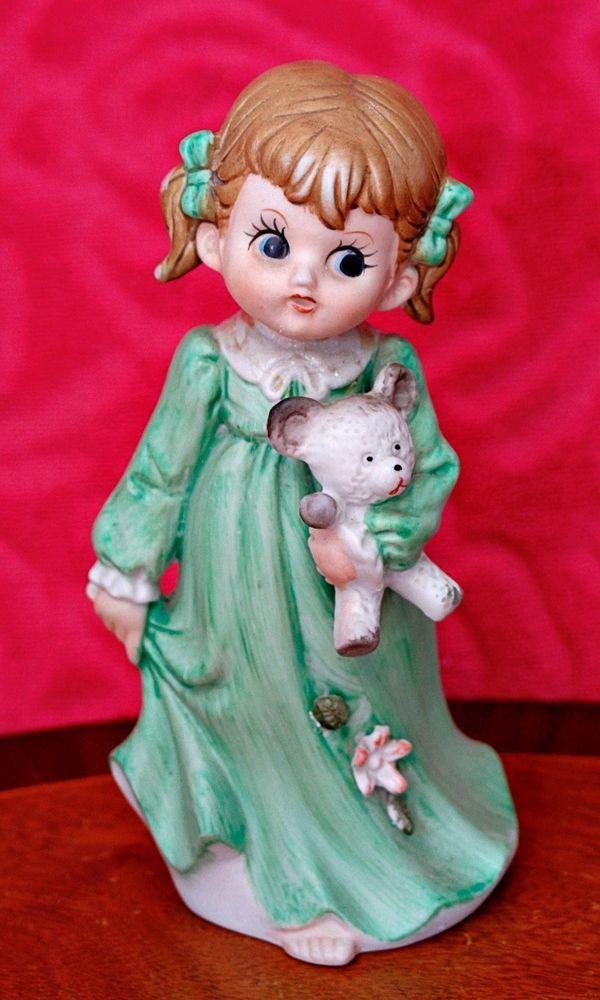 Vintage German Biscuit Porcelain Figurine