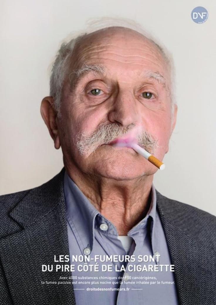 Droit des Non Fumeurs - Les non-fumeurs sont du pire côté de la cigarette