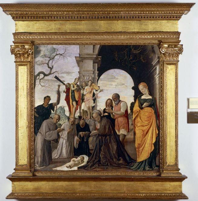 Sandro Botticelli: Madonna col Bambino e angeli detta Madonna del Padiglione