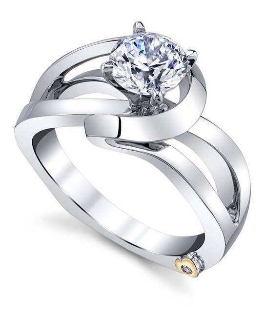 Juliet Engagement Ring - Mark Schneider Design