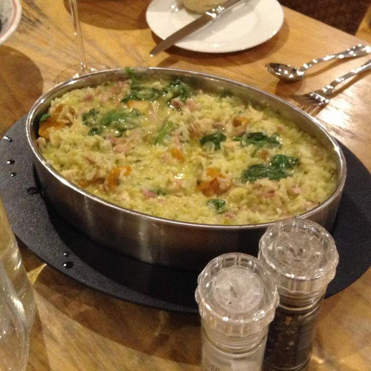 Recipe Chicken. Bacon, Pumpkin & Spinach Risotto by Wendy Farrelly - Recipe of category Main dishes - meat