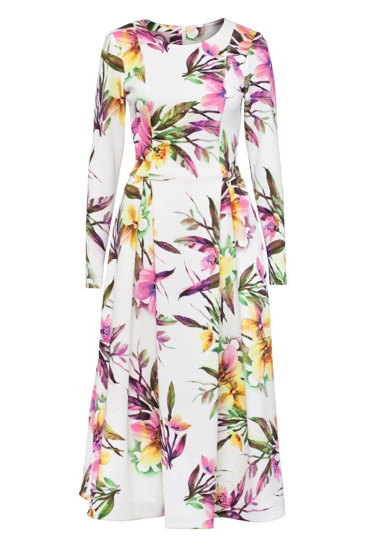 I <3 FLOWERS | sukienka Bizuu (Pasaż 0) #flowers #sukienka #bizuu #starybrowar
