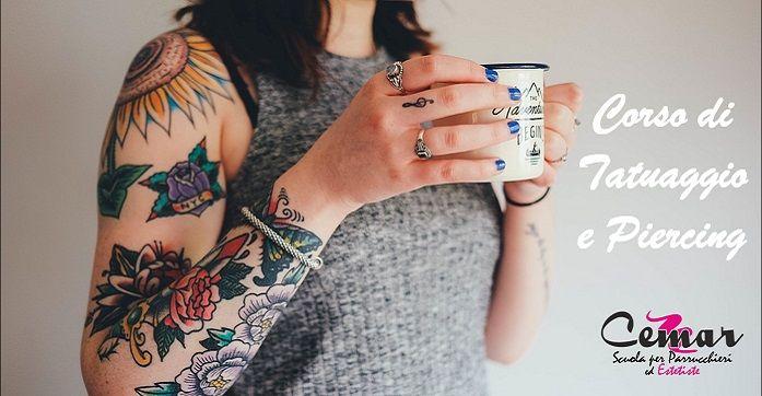 Se il tuo sogno è quello di diventare un tatuatore professionista e di aprire un tuo studio, il nostro corso di Tatuaggio e Piercing è quello che fa per te. ll corso ha una durata di 90 ore, superato l'esame finale verrà rilasciato l'Attestato Regionale che autorizza l'apertura del proprio studio di tatuaggi e piercing in tutta Italia. Scoprilo qui: http://leadcreator.it/cemar-tat-pier/  #ScuolaCemar  #beauty #tattoo #piercing #regionelazio #corso #scuola #estetiste #parrucchieri #makeup