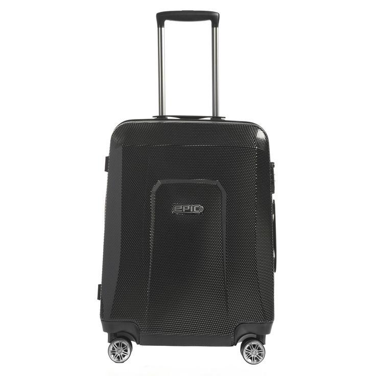 Mittlerer #Koffer EPIC HDX Hexacore bei Koffermarkt: ✓Farbe black star ✓4 Rollen ✓64x46x24 cm ✓3,4 kg ✓69 Liter Volumen