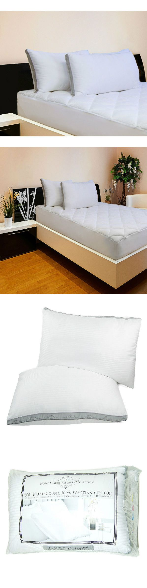 Bed Pillows 20445: King Size Pillows Set Of 2 My Big Luxury Hotel Bed Pillow -> BUY IT NOW ONLY: $33.95 on eBay!