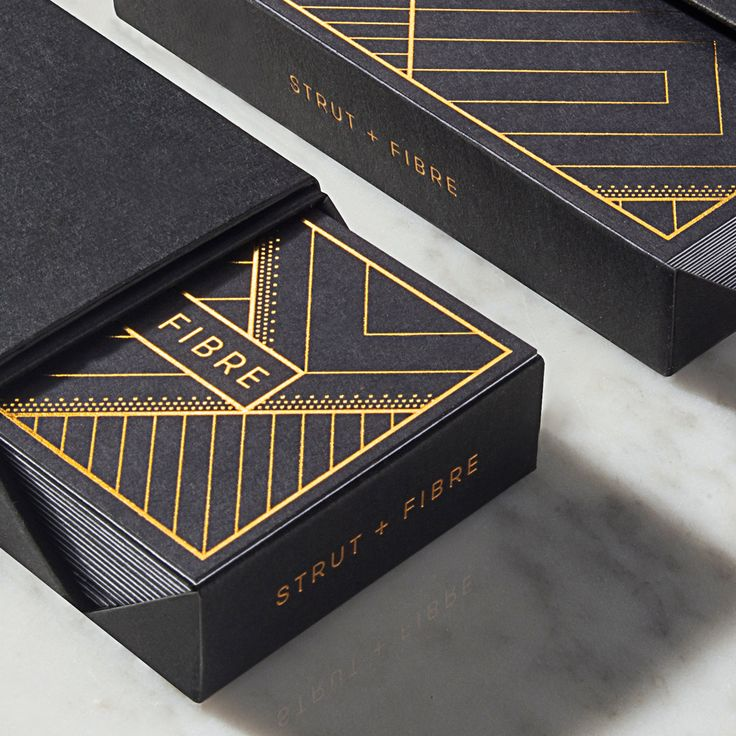 Bespoke Strut and Fibre presentation boxes for your business cards and postcards.