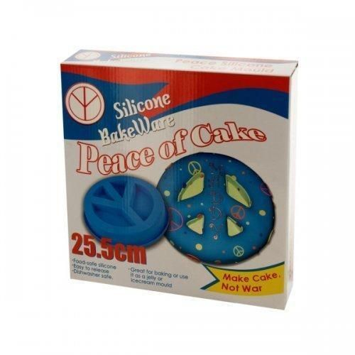 Silicone Peace Sign Cake Mold (pack of 4) X662-KL13489