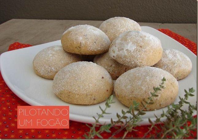 Polvorones - bolinhos mexicanos