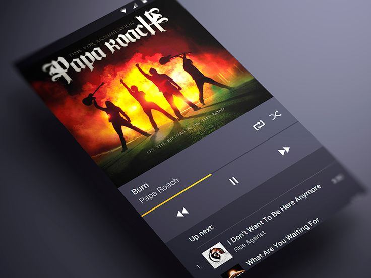 Android music App Material design Player by ALex Bender