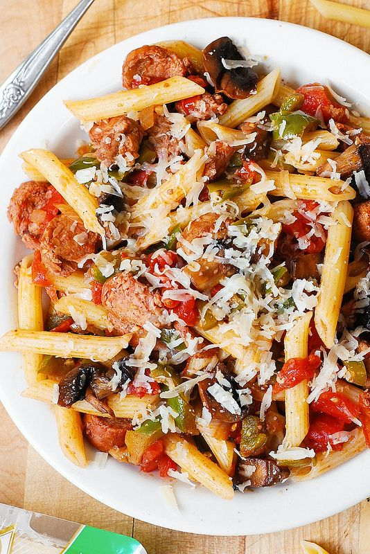 Italian Sausage Pasta with Vegetables
