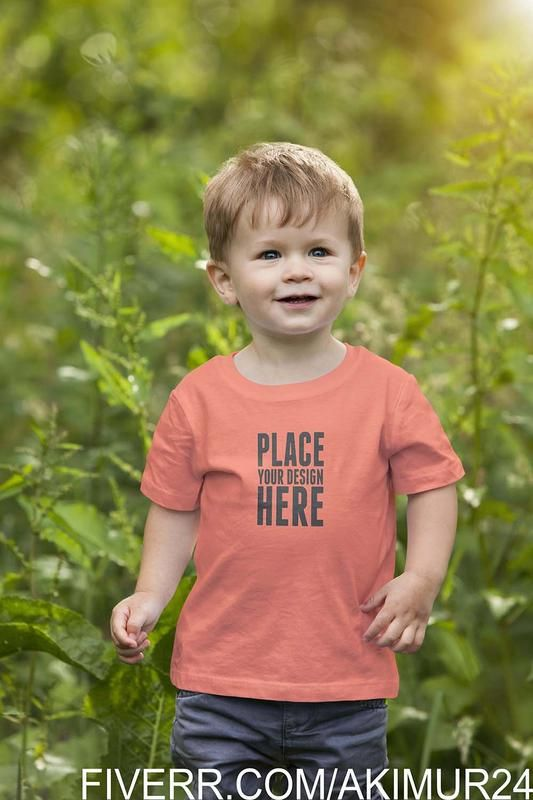 Download Free Download Kids T Shirt Mockup Kt62 Tshirtmockuppsd Funny Kids Shirts Kids Tshirts Baby Tshirts