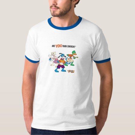 Toontown Flippy, Duck and Cat Are You Toon Enough T-Shirt - click to get yours right now!