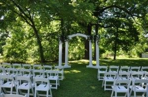 Simple Outdoor Wedding Ideas | time of day generally morning is the most humid time of day while ...