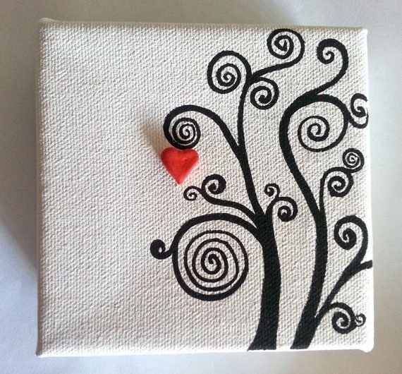 canvas art ideas 3d - Google Search