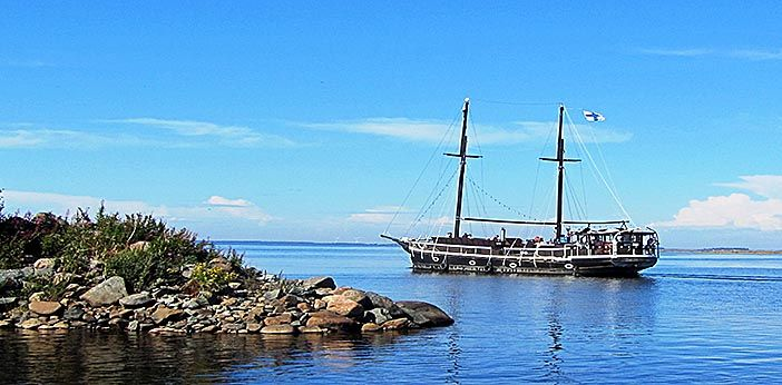 Bothnian Bay National Park - Katariina ship. Photo: Sasa Dolinsek Nationalparks.fi
