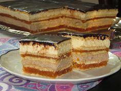 Ciasto przekładane bez pieczenia