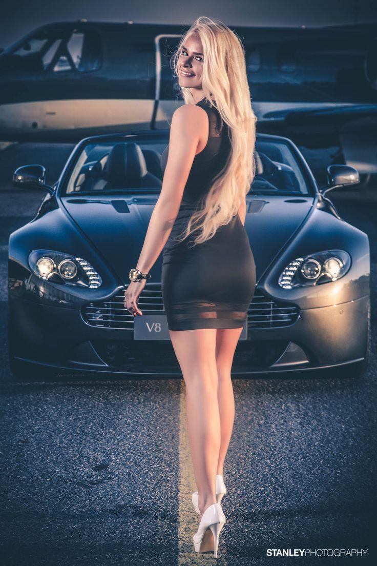 Photoshoot for Aston Martin Denmark // Model: Raimonda // Photo: Stanley Photography