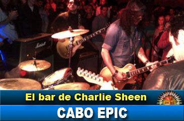 Charlie Sheen ya tiene su propio bar en Los Cabos
