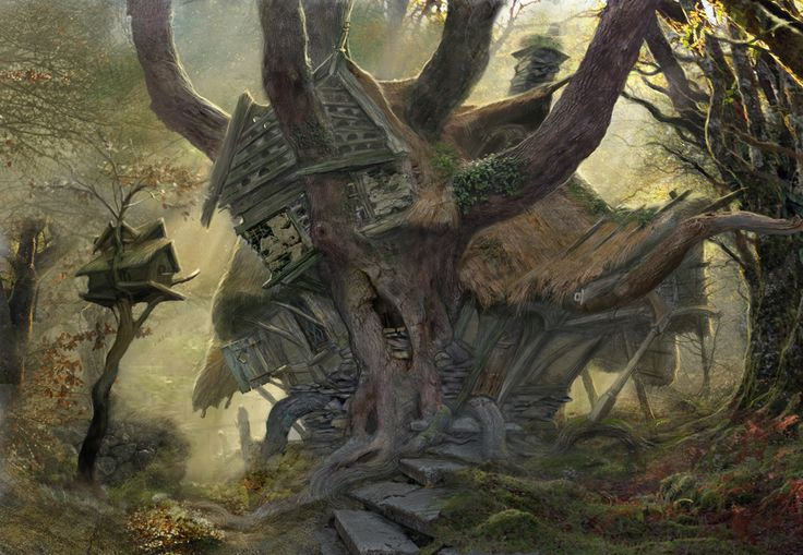 John Howe Hobbit concept art