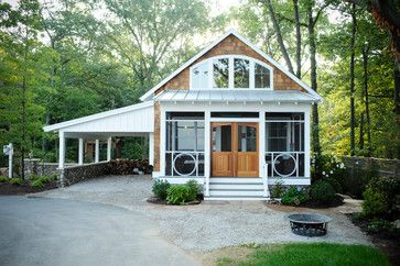 LakeBridge Seven Lake House Guest Cottage - eclectic - exterior - grand rapids - Cottage Home, Inc.