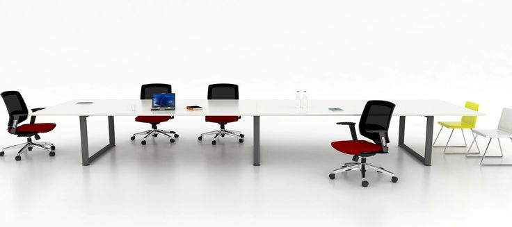 Create a modern office meeting design. Open office, large space design ideas : meeting table system.  Wholesale inquires @howimports #workstation #sqStation