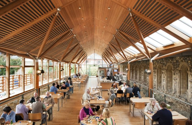 Norwich Cathedral Refectory - Explore, Collect and Source architecture