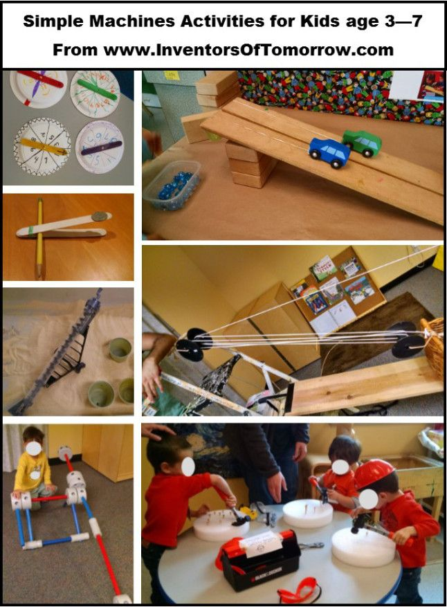 simple machine activities for elementary