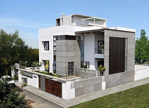 The Cube - Shah Residence by Dipen Gada & Associates
