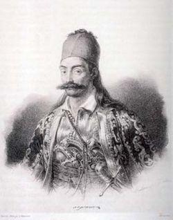 Kraizesen , Γ. Καραϊσκάκης (1780-1827) , λιθογραφία.