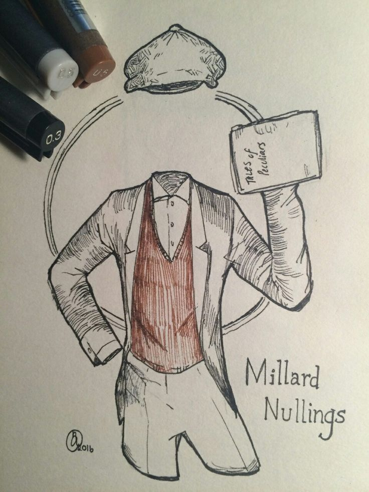 Miss Peregrine's home for peculiar children. Millard Nullings.