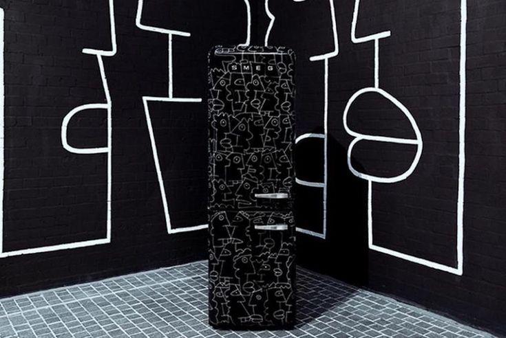 Art & Appliance! The Smeg x Thierry Noir Refrigerator Collection https://stupiddope.com/2018/02/23/art-appliance-the-smeg-x-thierry-noir-refrigerator-collection/?utm_content=bufferb3e4b&utm_medium=social&utm_source=pinterest.com&utm_campaign=buffer #Art #Design #Smeg