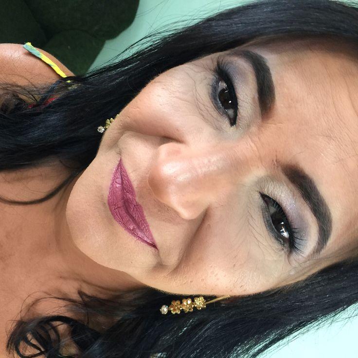 �� Vanuza �������� . By makeup ��❤️ . #maquiagem #makeup #bomdia #goodmorning #instagood #bonjour #instagood #makeupartist #maquillaje #bonjour #make #maquiagembrasil #maquiadoraprofissional #fotos #mac #dailus #instagirl #marykay #eudora #fenzza #jasmine #lovers #beauty #beautiful #inglot #pelemadura http://misstagram.com/ipost/1573213754882254541/?code=BXVLZMng-bN