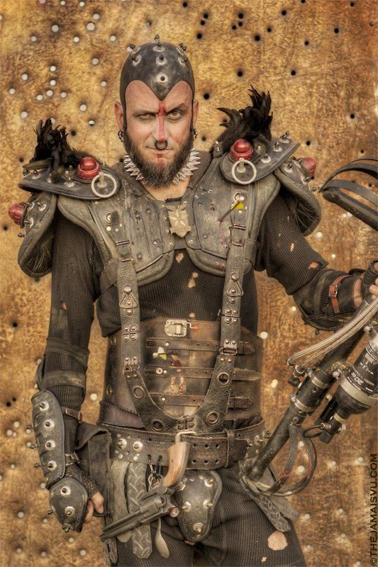 Dystopian Post-Apocalyptic Mecha Nomad Futuristic for cosplay ideas