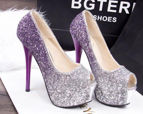 Decolte-scarpe-donna-Con-Plateau-viola-tacco-14-5-cm-Plateau-5-cm-8650