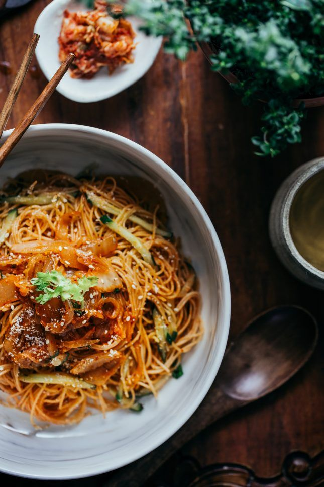14 Recipes That Prove Angel Hair Pasta Makes the Best Dinner via Brit + Co