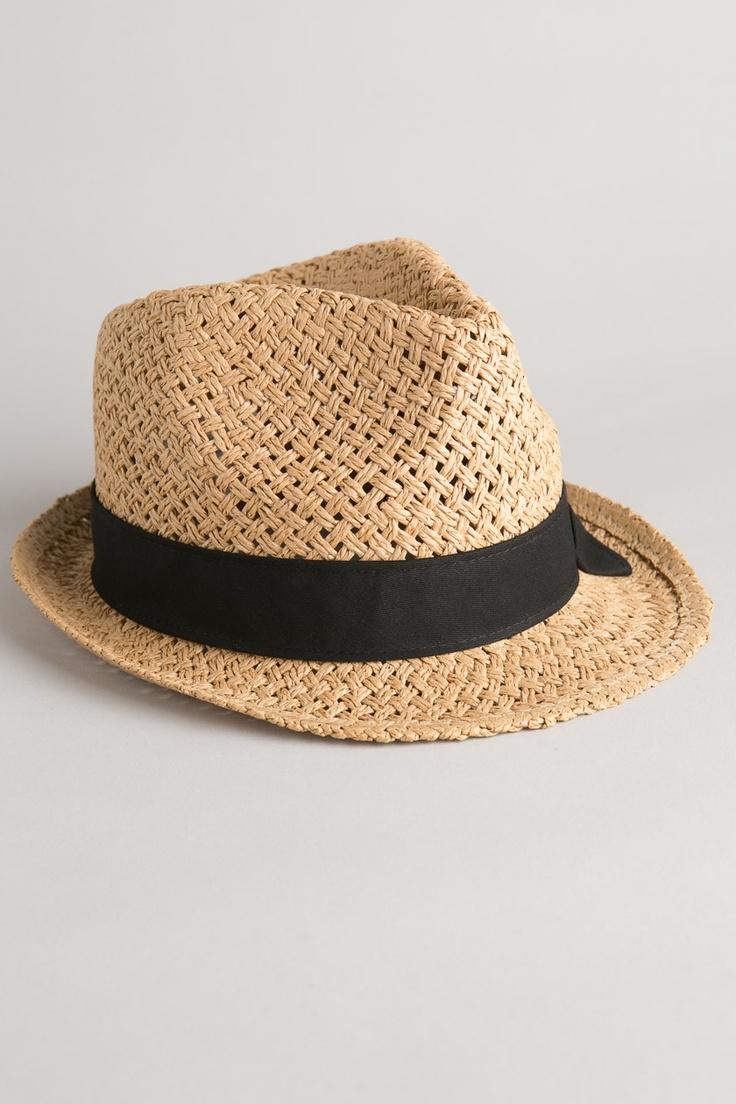 Chapeau femme paille bandeau à noeud