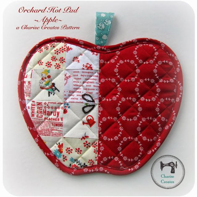 Gift Sewing and a New Pattern - Orchard Hot Pad!