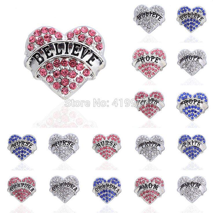 Броши белый / серебристый / розовое в форме сердца горный хрусталь кристалл брошь пен сестра мама дочь бабушка лучший друг бабушка подарки