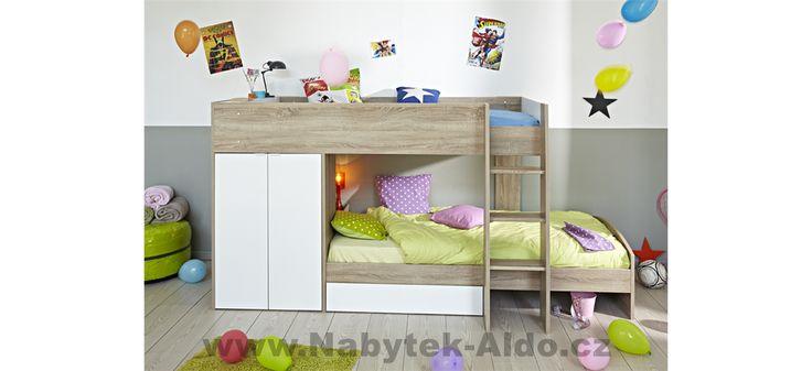 Multifunkční patrová postel
