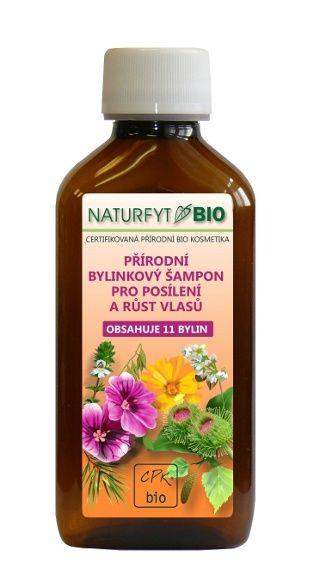 NATURFYT BIO Přírodní šampon pro růst vlasů 200 ml