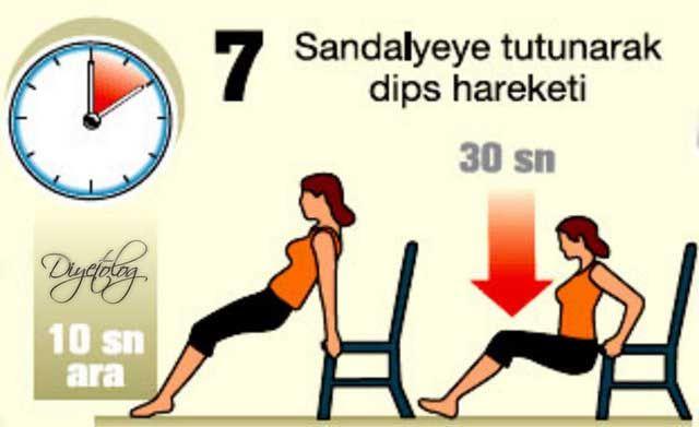 Evde Zayıflatan Egzersiz Hareketleri   Diyetolog