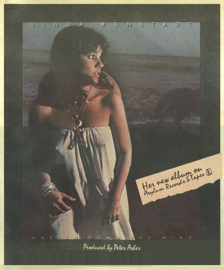 my favorite album as a young teen -linda ronstadt!